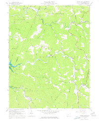 Download a high-resolution, GPS-compatible USGS topo map for Hacker Valley, WV (1977 edition)