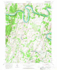 Download a high-resolution, GPS-compatible USGS topo map for Hedgesville, WV (1967 edition)