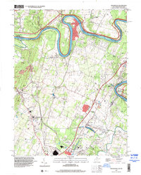 Download a high-resolution, GPS-compatible USGS topo map for Hedgesville, WV (2000 edition)