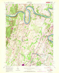 Download a high-resolution, GPS-compatible USGS topo map for Hedgesville, WV (1972 edition)