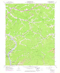 Download a high-resolution, GPS-compatible USGS topo map for Henlawson, WV (1978 edition)