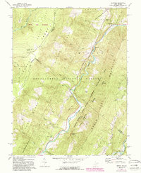 Download a high-resolution, GPS-compatible USGS topo map for Hopeville, WV (1988 edition)