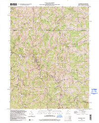 Download a high-resolution, GPS-compatible USGS topo map for Hundred, WV (2000 edition)