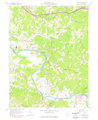 Download a high-resolution, GPS-compatible USGS topo map for Kanawha, WV (1976 edition)