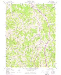 Download a high-resolution, GPS-compatible USGS topo map for Kenna, WV (1977 edition)