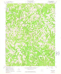 Download a high-resolution, GPS-compatible USGS topo map for Kentuck, WV (1978 edition)