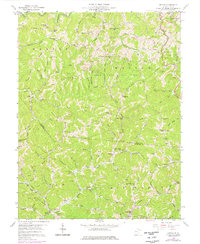 Download a high-resolution, GPS-compatible USGS topo map for Kettle, WV (1976 edition)
