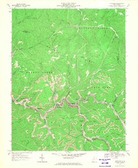 Download a high-resolution, GPS-compatible USGS topo map for Keystone, WV (1971 edition)