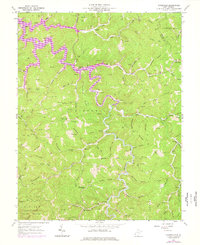 Download a high-resolution, GPS-compatible USGS topo map for Kiahsville, WV (1977 edition)
