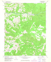 Download a high-resolution, GPS-compatible USGS topo map for Laneville, WV (1982 edition)