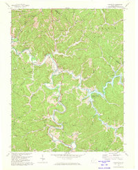 Download a high-resolution, GPS-compatible USGS topo map for Lavalette, WV (1974 edition)