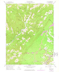 Download a high-resolution, GPS-compatible USGS topo map for Lead Mine, WV (1978 edition)