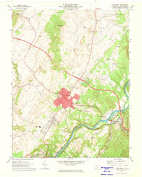 Download a high-resolution, GPS-compatible USGS topo map for Lewisburg, WV (1974 edition)
