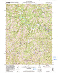 Download a high-resolution, GPS-compatible USGS topo map for Littleton, WV (2000 edition)