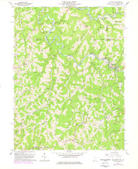 Download a high-resolution, GPS-compatible USGS topo map for Littleton, WV (1977 edition)