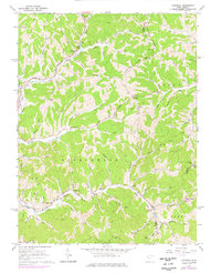 Download a high-resolution, GPS-compatible USGS topo map for Liverpool, WV (1976 edition)