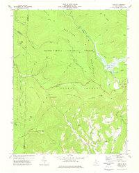 Download a high-resolution, GPS-compatible USGS topo map for Lobelia, WV (1977 edition)