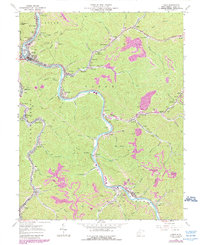 Download a high-resolution, GPS-compatible USGS topo map for Logan, WV (1989 edition)