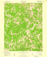 Download a high-resolution, GPS-compatible USGS topo map for Looneyville, WV (1959 edition)