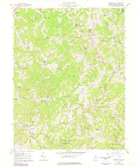 Download a high-resolution, GPS-compatible USGS topo map for Looneyville, WV (1977 edition)