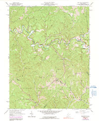 Download a high-resolution, GPS-compatible USGS topo map for Macfarlan, WV (1991 edition)