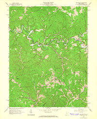 Download a high-resolution, GPS-compatible USGS topo map for Macfarlan, WV (1966 edition)