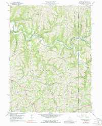 Download a high-resolution, GPS-compatible USGS topo map for Majorsville, WV (1988 edition)