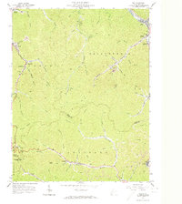 Download a high-resolution, GPS-compatible USGS topo map for Man, WV (1974 edition)