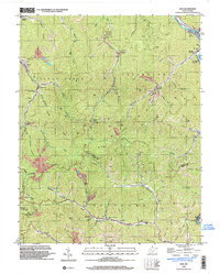 Download a high-resolution, GPS-compatible USGS topo map for Man, WV (2003 edition)