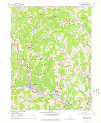 Download a high-resolution, GPS-compatible USGS topo map for Mannington, WV (1978 edition)