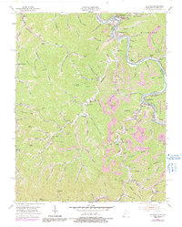 Download a high-resolution, GPS-compatible USGS topo map for Matewan, WV (1991 edition)
