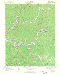 Download a high-resolution, GPS-compatible USGS topo map for Matheny, WV (1971 edition)