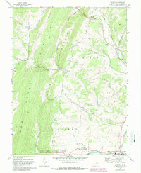 Download a high-resolution, GPS-compatible USGS topo map for Maysville, WV (1987 edition)