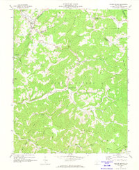 Download a high-resolution, GPS-compatible USGS topo map for Meadow Bridge, WV (1974 edition)