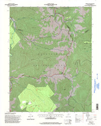 Download a high-resolution, GPS-compatible USGS topo map for Mingo, WV (1998 edition)