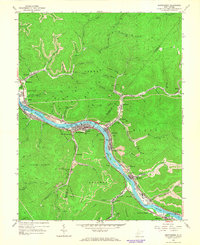 Download a high-resolution, GPS-compatible USGS topo map for Montgomery, WV (1966 edition)