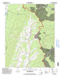 Download a high-resolution, GPS-compatible USGS topo map for Montrose, WV (1998 edition)