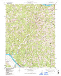 Download a high-resolution, GPS-compatible USGS topo map for Mount Alto, WV (1998 edition)