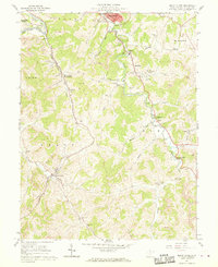 Download a high-resolution, GPS-compatible USGS topo map for Mount Clare, WV (1970 edition)