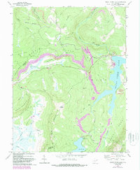 Download a high-resolution, GPS-compatible USGS topo map for Mount Storm Lake, WV (1988 edition)