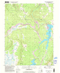Download a high-resolution, GPS-compatible USGS topo map for Mount Storm Lake, WV (2001 edition)