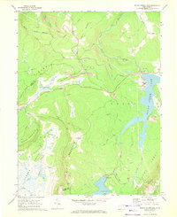 Download a high-resolution, GPS-compatible USGS topo map for Mount Storm Lake, WV (1972 edition)