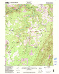 Download a high-resolution, GPS-compatible USGS topo map for Mount Storm, WV (2001 edition)