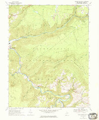 Download a high-resolution, GPS-compatible USGS topo map for Mozark Mountain, WV (1976 edition)