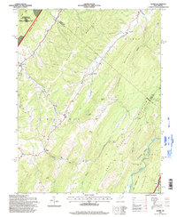 Download a high-resolution, GPS-compatible USGS topo map for Mozer, WV (1998 edition)