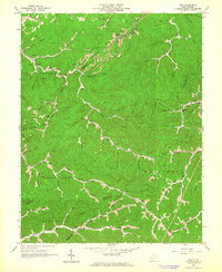 Download a high-resolution, GPS-compatible USGS topo map for Mud, WV (1964 edition)