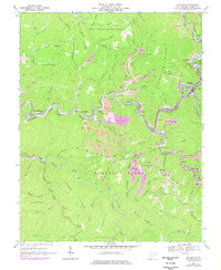 Download a high-resolution, GPS-compatible USGS topo map for Mullens, WV (1977 edition)