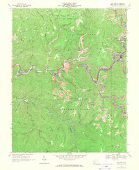 Download a high-resolution, GPS-compatible USGS topo map for Mullens, WV (1971 edition)
