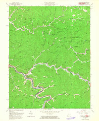 Download a high-resolution, GPS-compatible USGS topo map for Naugatuck, WV (1965 edition)