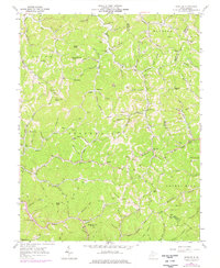 Download a high-resolution, GPS-compatible USGS topo map for Nestlow, WV (1976 edition)